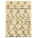 <strong>Moroccan Atlas Ivory/Black Rug</strong> by Linon Rugs
