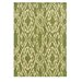 Linon Rugs Le Soleil Green/Ivory Outdoor Rug