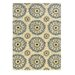<strong>Le Soleil Ivory/Blue Outdoor Rug</strong> by Linon Rugs
