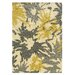 Linon Rugs Le Soleil Ivory/Yellow Outdoor Rug