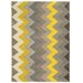<strong>Trio Grey Chevron Rug</strong> by Linon Rugs