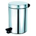 <strong>Standard Hotel 0.8-Gal. Pedal Waste Bin</strong> by Geesa by Nameeks