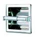 Standard Hotel Single Recessed Toilet Paper Holder in Stainless Steel