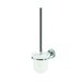 Luna Wall Mounted Toilet Brush Holder in Chrome