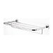 Geesa by Nameeks Luna Wall Mounted Bath Towel Shelf with Towel Bar