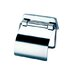 Standard Hotel Toilet Paper Holder with Cover in Chrome