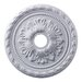 "21.5"" Corinthian Medallion in White"