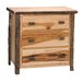 Fireside Lodge Hickory 3 Drawer Chest