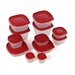 24 Piece Easy Find Lid Set