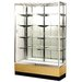 Streamline 48&quot; x 18&quot; Trophy Case with Panel Back