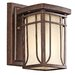 Riverbank  Outdoor Wall Lantern in Aged Bronze