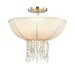 Corbett Lighting Cascade 3 Light Semi Flush Mount