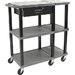 H. Wilson Company Tuffy 70 Series Extra Wide Open Shelf Presentation Station