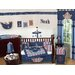<strong>Nautical Nights Crib Bedding Collection</strong> by Sweet Jojo Designs