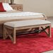 Ventura Wood Bedroom Bench