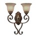Golden Lighting Bristol Place 1 Light Wall Sconce