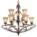 Loretto 9 Light Chandelier