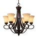 Torbellino 6 Light Chandelier