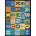 <strong>Joy Carpets</strong> Oversize Alphabet© Kids Rug