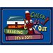 Educational Check Us Out Kids Rug