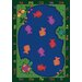Educational Essentials Fishin' Fun Kids Rug