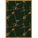 Gaming and Entertainment Snookered Emerald Novelty Rug