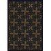 Nature Tahoe Black Novelty Rug