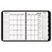 <strong>At-A-Glance</strong> Triple View Professional Weekly/Monthly Appointment Book, 8-1/4 x 10-7/8, Black, 2012