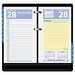 <strong>At-A-Glance</strong> QuickNotes Two-Color Daily Desk Calendar Refill, 3-1/2w x 6h, 2013