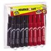 <strong>Avery Consumer Products</strong> Marks-A-Lot Permanent Markers, 24/Pack