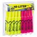 Hi-Liter Desk Style Highlighter, Chisel, 24 Per Pack