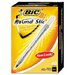 Bic Corporation Medium Round Stic Ballpoint Pen, 1.0 Mm, 60 Per Box