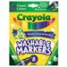 <strong>Crayola LLC</strong> Washable Broad Point Markers (8/Pack)