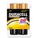 Duracell Coppertop Alkaline Batteries, D, 8/pack