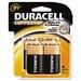 Duracell Coppertop Alkaline Batteries, 9V, 4/pack
