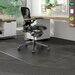 Deflect-O Corporation DuraMat Low/Medium Pile Carpet Beveled Chair Mat