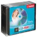 Imation CD-RW Discs with Slim Jewel Cases, 10/Pack