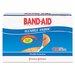 Johnson & Johnson Band-Aid Flexible Fabric Premium Adhesive Bandages, 100/Box
