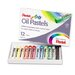 Oil Pastel Set with Carrying Case, 12/Set