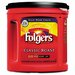 Procter & Gamble Commercial Folgers Ground Coffee, Classic Roast Regular, 6/Carton