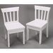 <strong>Gift Mark</strong> Ladderback Kid's Chair (Set of 2)