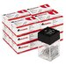 Universal® Paper Clips with Magnetic Dispenser, 12/100 Carton Boxes