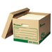 Recycled Record Storage Box, 12/Carton