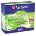 Verbatim Corporation Cd-Rw Discs, 700Mb/80Min, 12X, 10/Pack