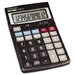 <strong>Antimicrobial Desktop Calculator, 12-Digit Lcd</strong> by Victor Technology
