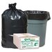 (80 per Carton) 33 Gallon Re-Claim Large Trash and Yard Bags
