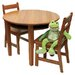 Lipper International Kids' 3 Piece Table & Chair Set I