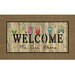 <strong>Apache Mills</strong> Masterpiece Owl Welcome Mat