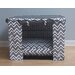 <strong>Fair Isle Dog Crate Cover</strong> by BowhausNYC