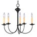 Heritage 5 Light Chandelier
